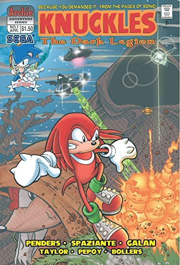 Knuckles the Echidna #1