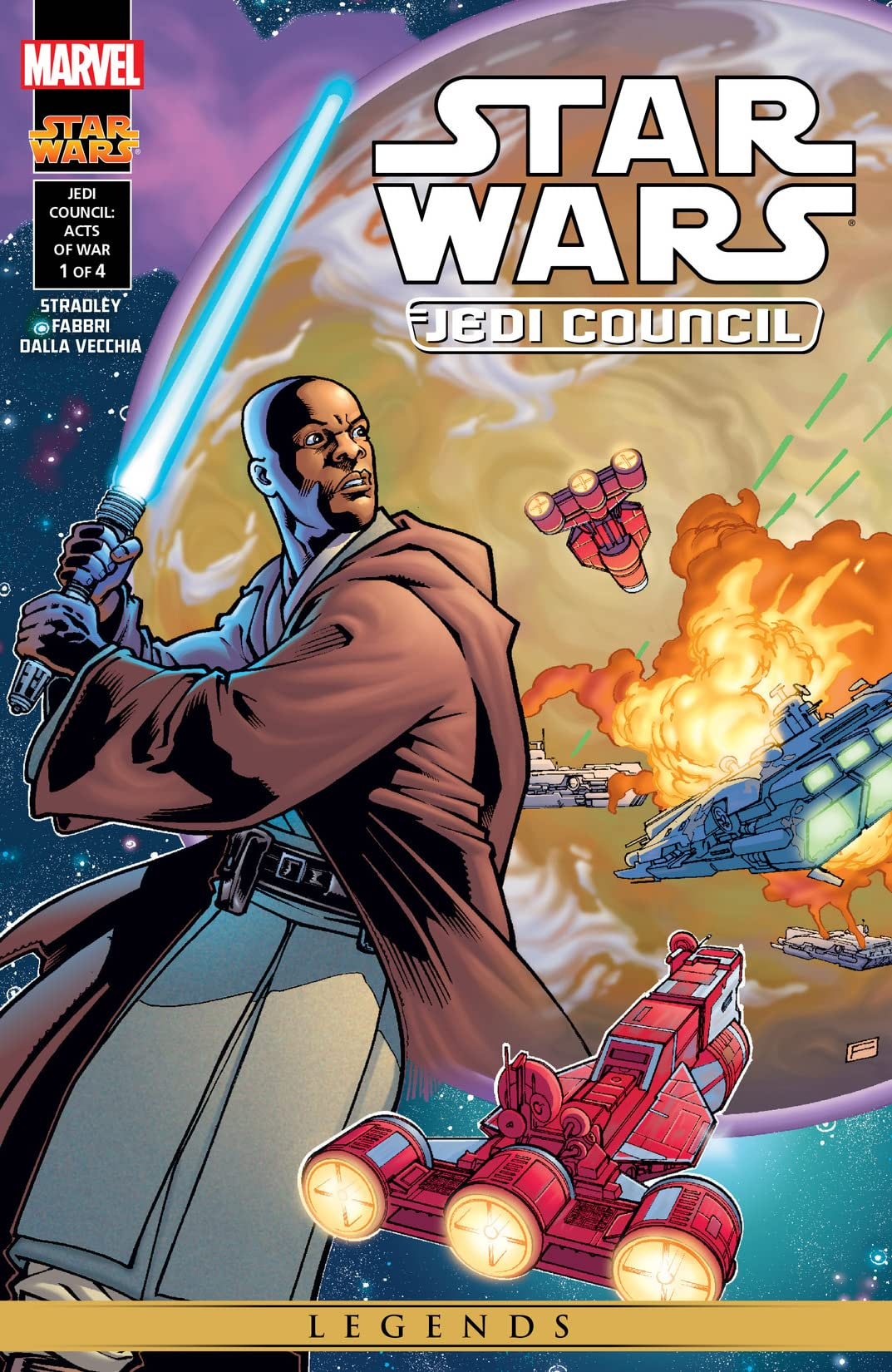 Star Wars: Jedi Council - Acts of War (2000) #1 (of 4)