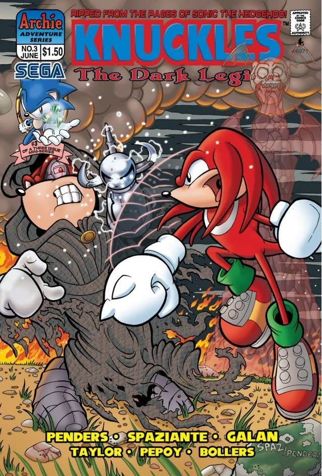Knuckles the Echidna #3