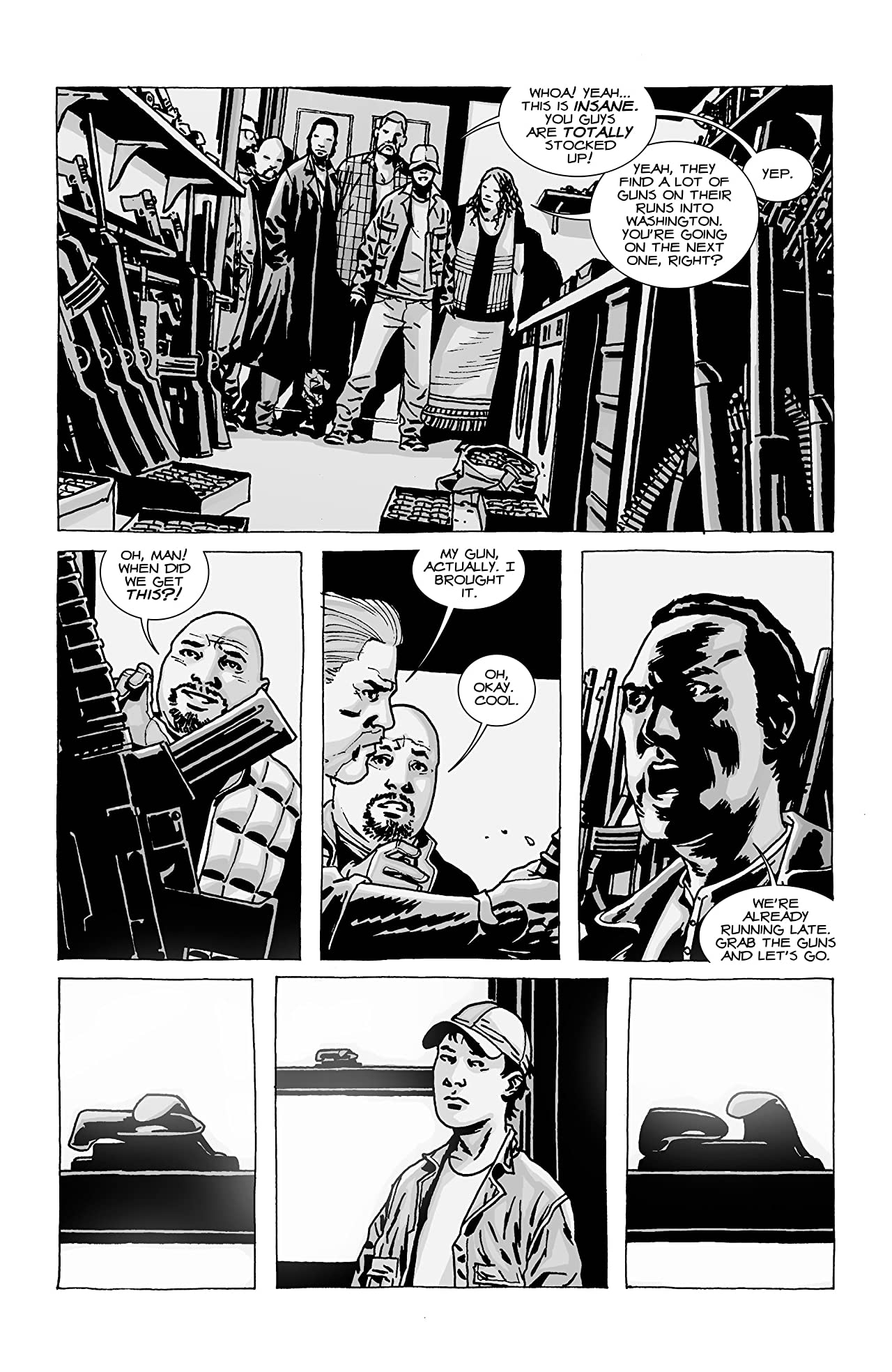 The Walking Dead #73