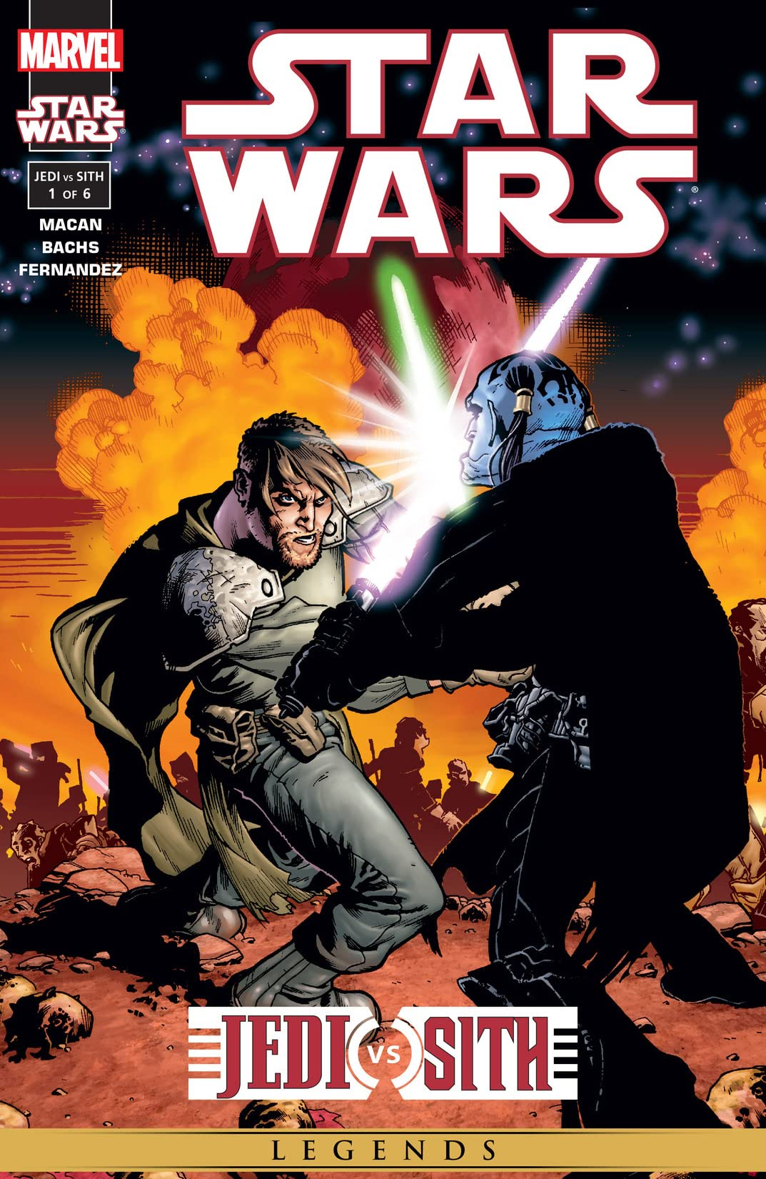 Star Wars: Jedi vs. Sith (2001) #1 (of 6)
