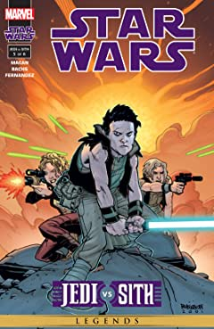 Star Wars: Jedi vs. Sith (2001) #5 (of 6)