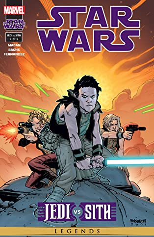 Star Wars: Jedi vs. Sith (2001) #5 (of 6)