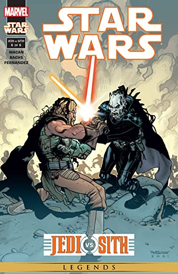 Star Wars: Jedi vs. Sith (2001) #6 (of 6)
