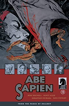 Abe Sapien #19