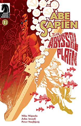 Abe Sapien: The Abyssal Plain No.1