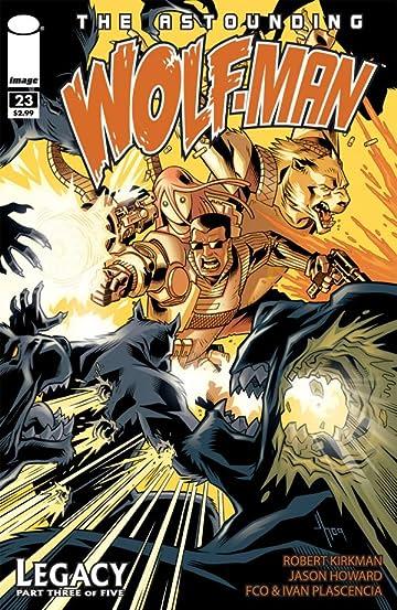 The Astounding Wolf-Man #23