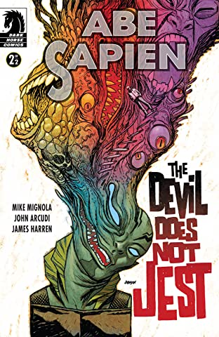 Abe Sapien: The Devil Does Not Jest No.2