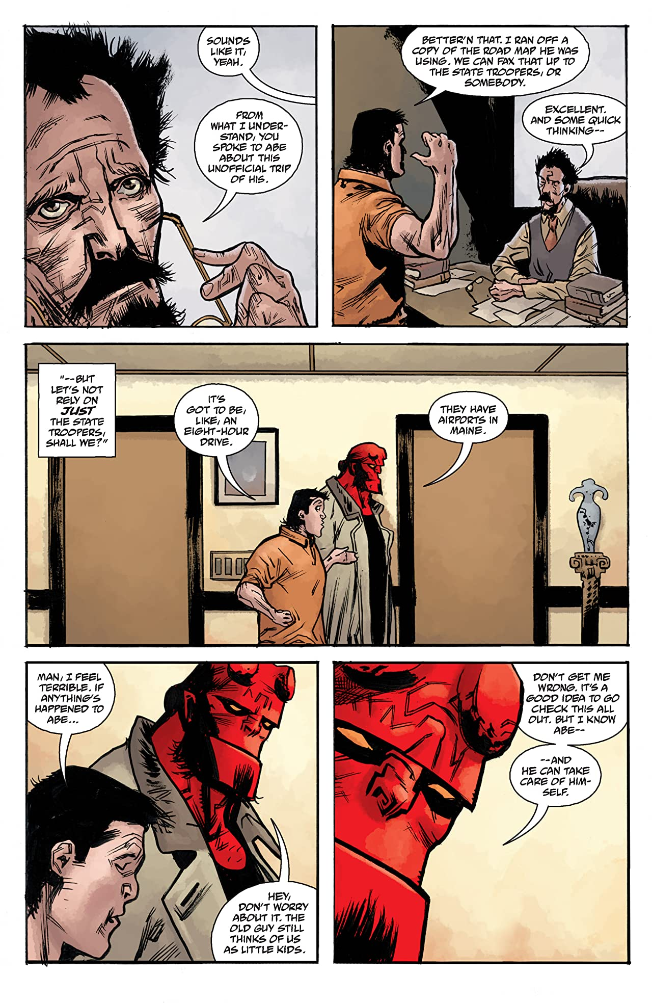 Abe Sapien: The Devil Does Not Jest #2