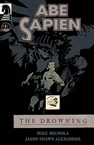Abe Sapien: The Drowning No.4