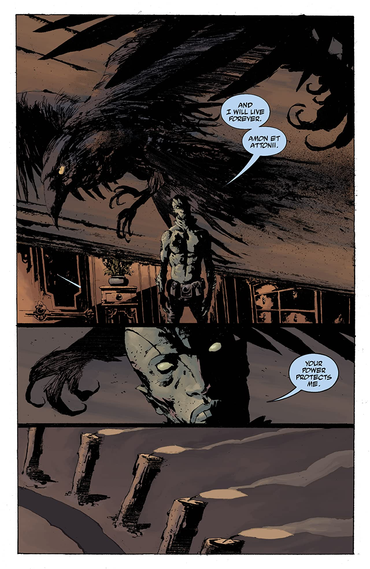 Abe Sapien: The Drowning #4