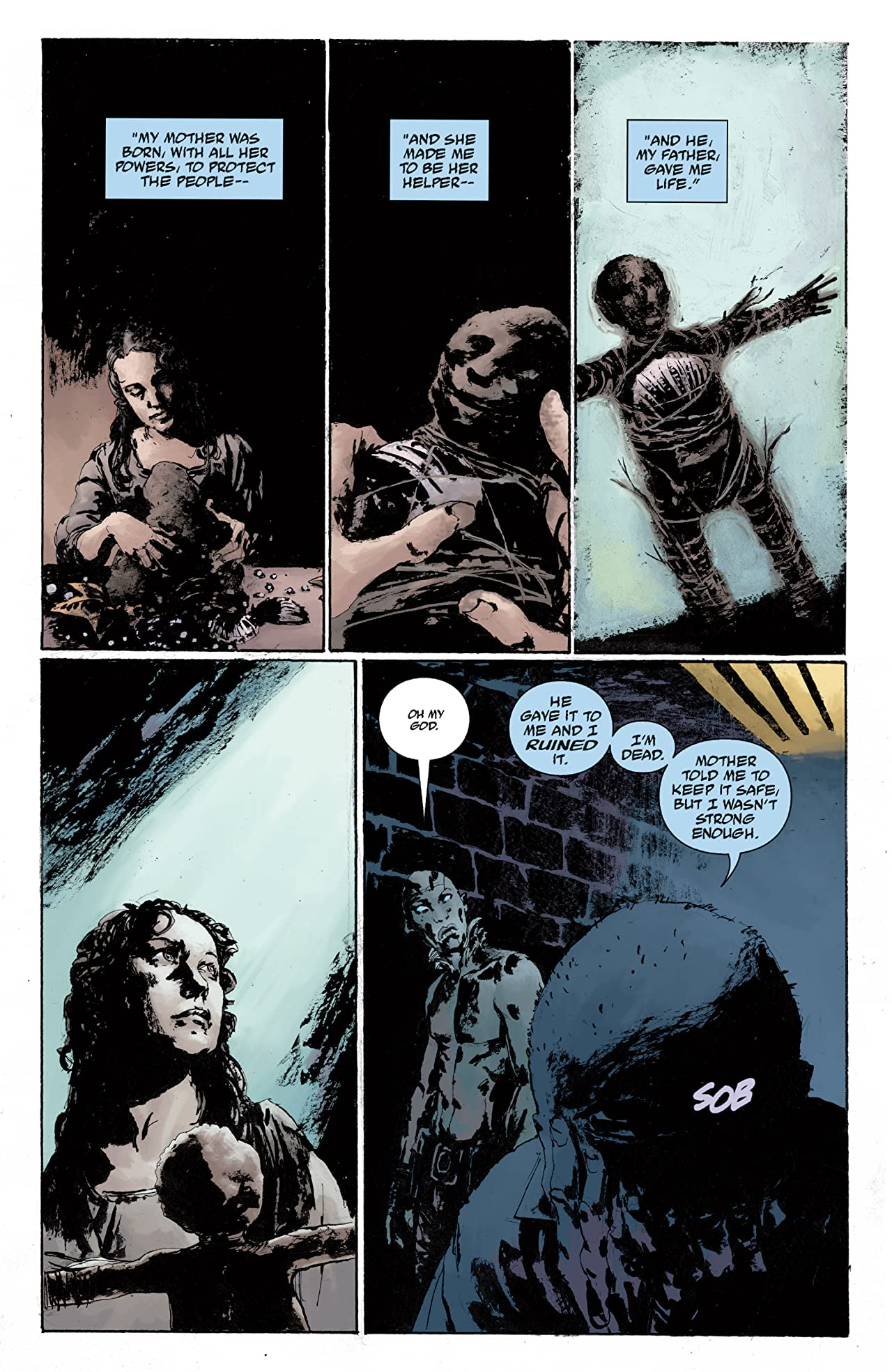 Abe Sapien: The Drowning #5
