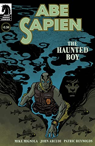 Abe Sapien: The Haunted Boy No.1