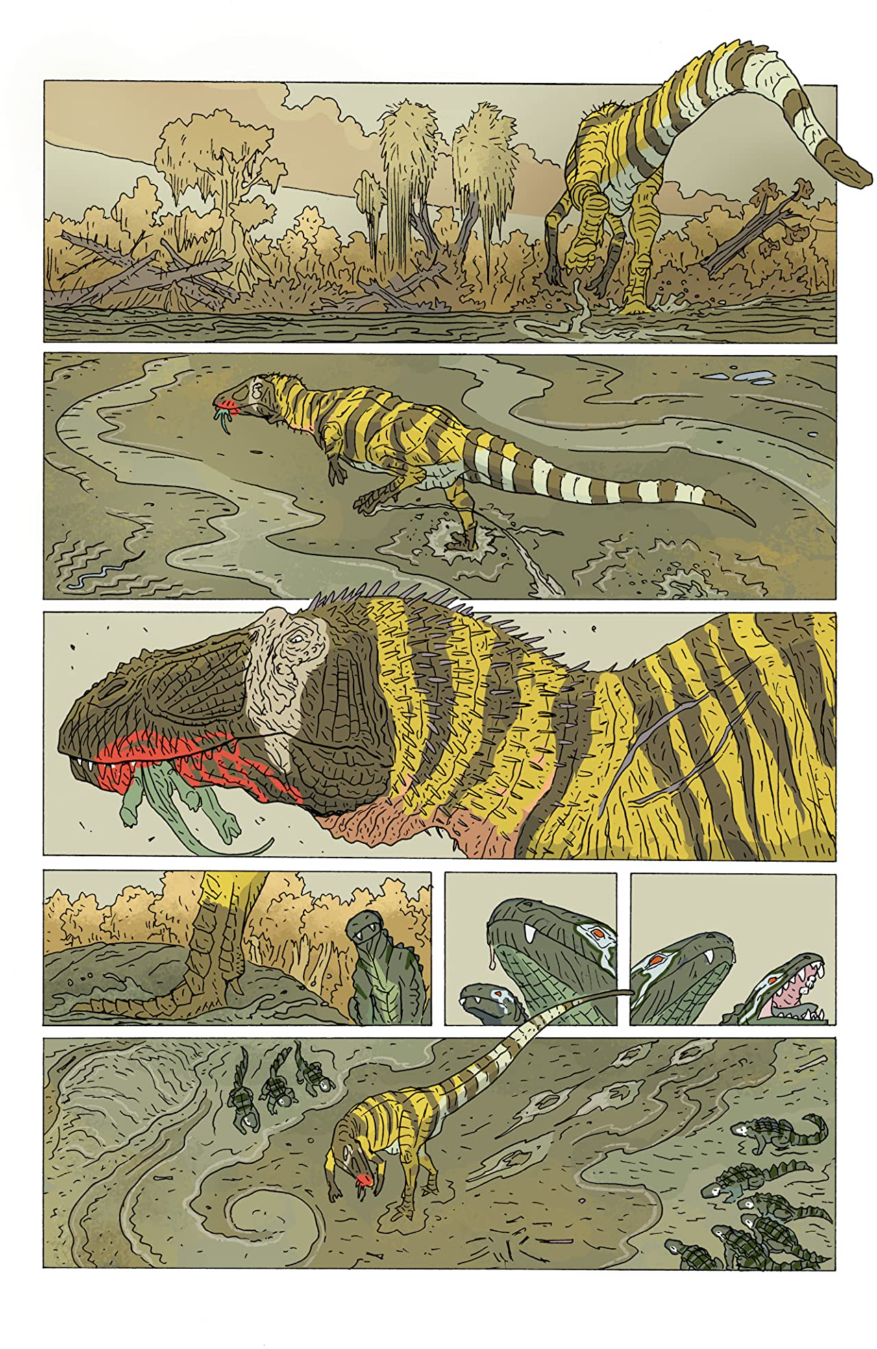 Age of Reptiles #3