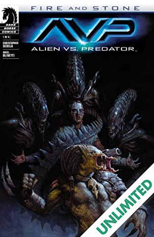 Alien vs. Predator: Fire and Stone #1