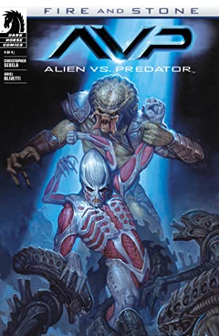 Alien vs. Predator: Fire and Stone #4