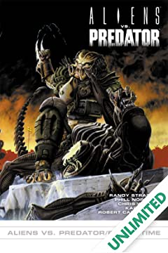 Aliens vs. Predator #1: Aliens vs. Predator/Blood Time
