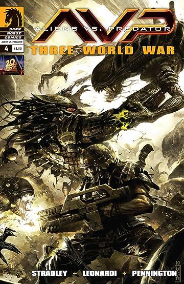 Aliens vs. Predator: Three World War #4