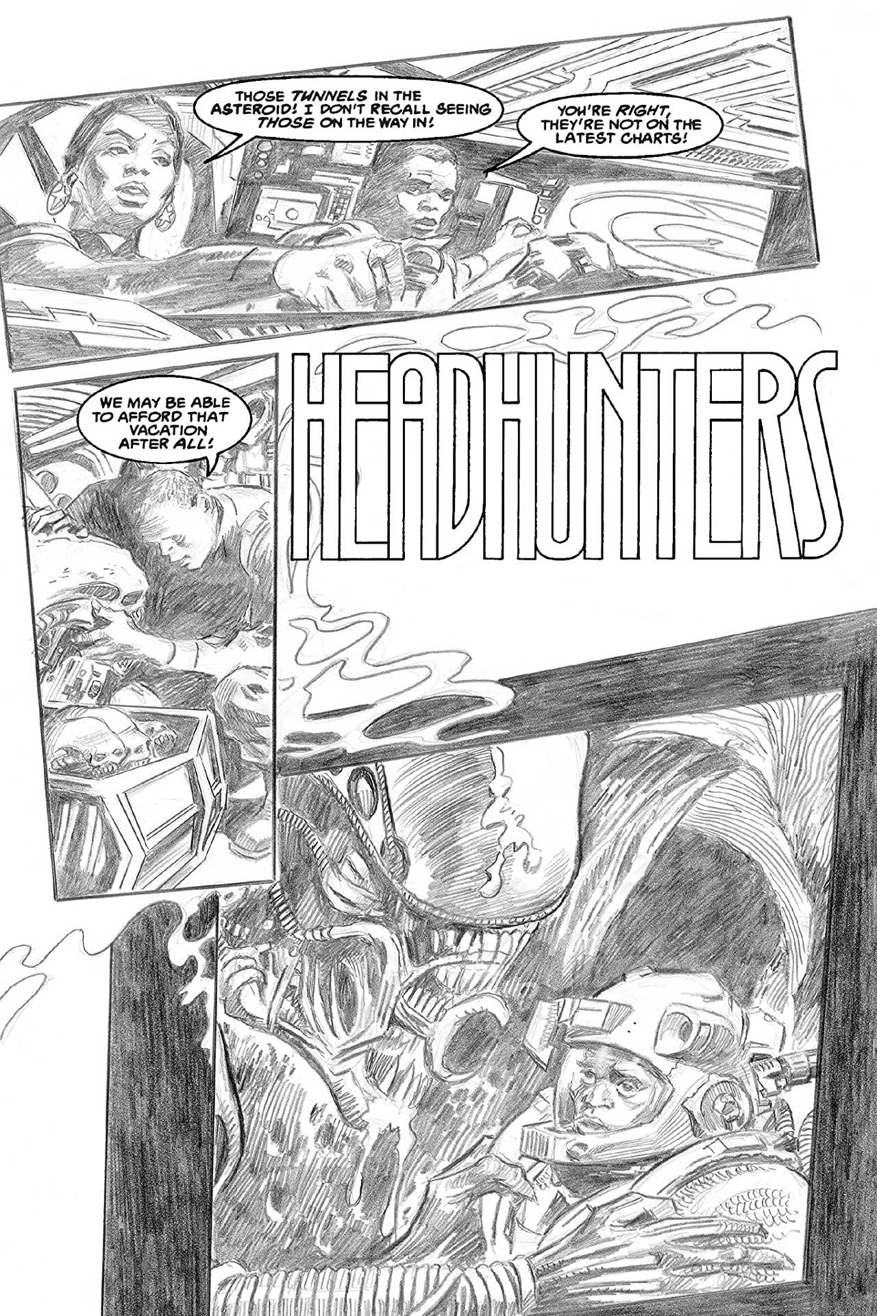 Aliens #30: Headhunter/Tourist Season