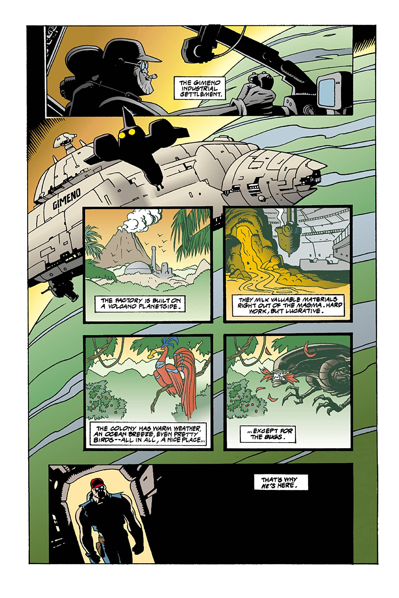 Aliens #18: Mondo Heat
