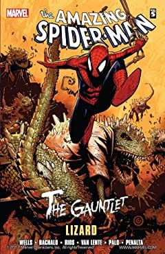 Spider-Man: The Gauntlet Vol. 5: Lizard