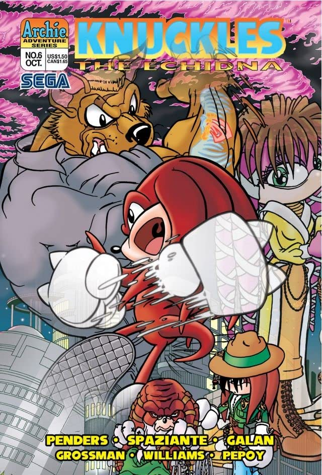 Knuckles the Echidna #6