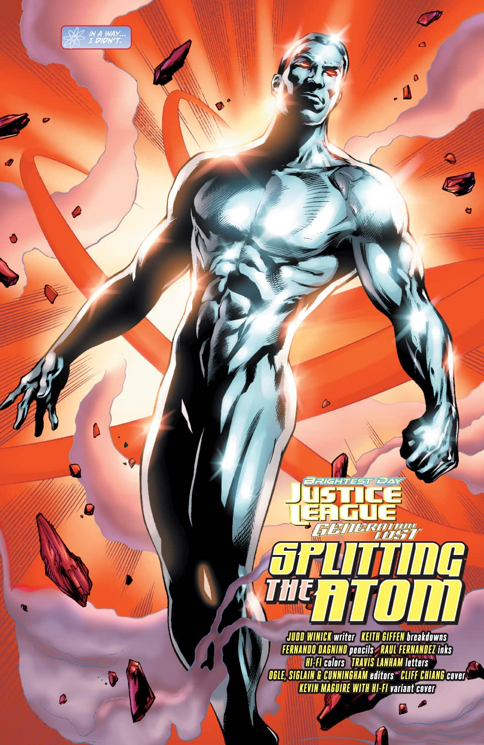 Justice League: Generation Lost #6
