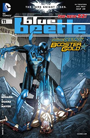Blue Beetle (2011-2013) #11