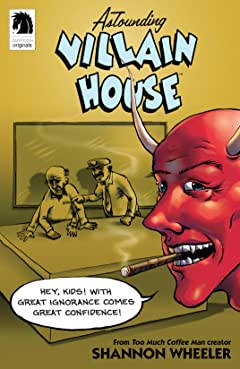 Astounding Villain House #1
