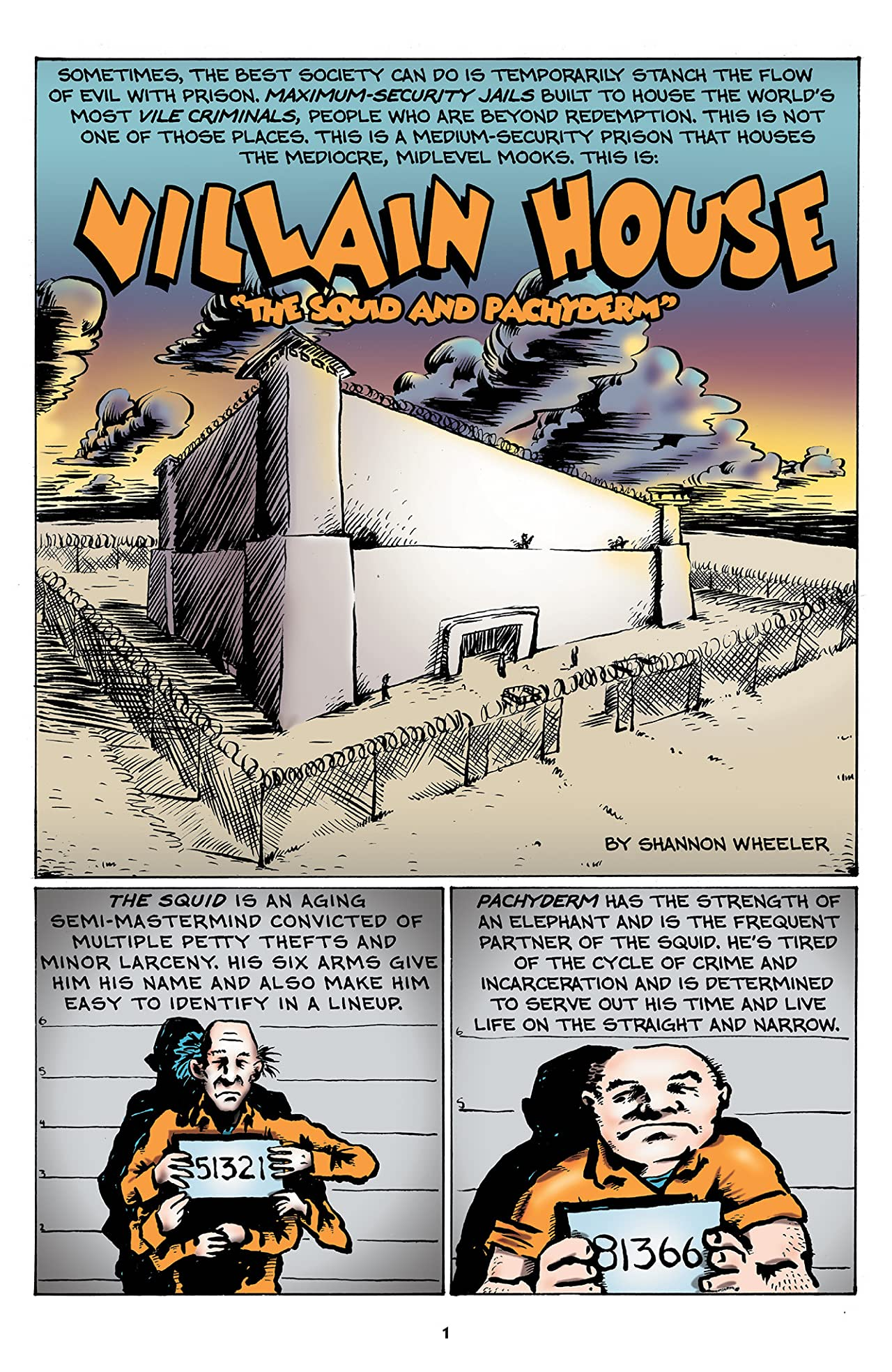 Astounding Villain House #1