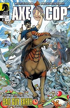 Axe Cop: Bad Guy Earth #3