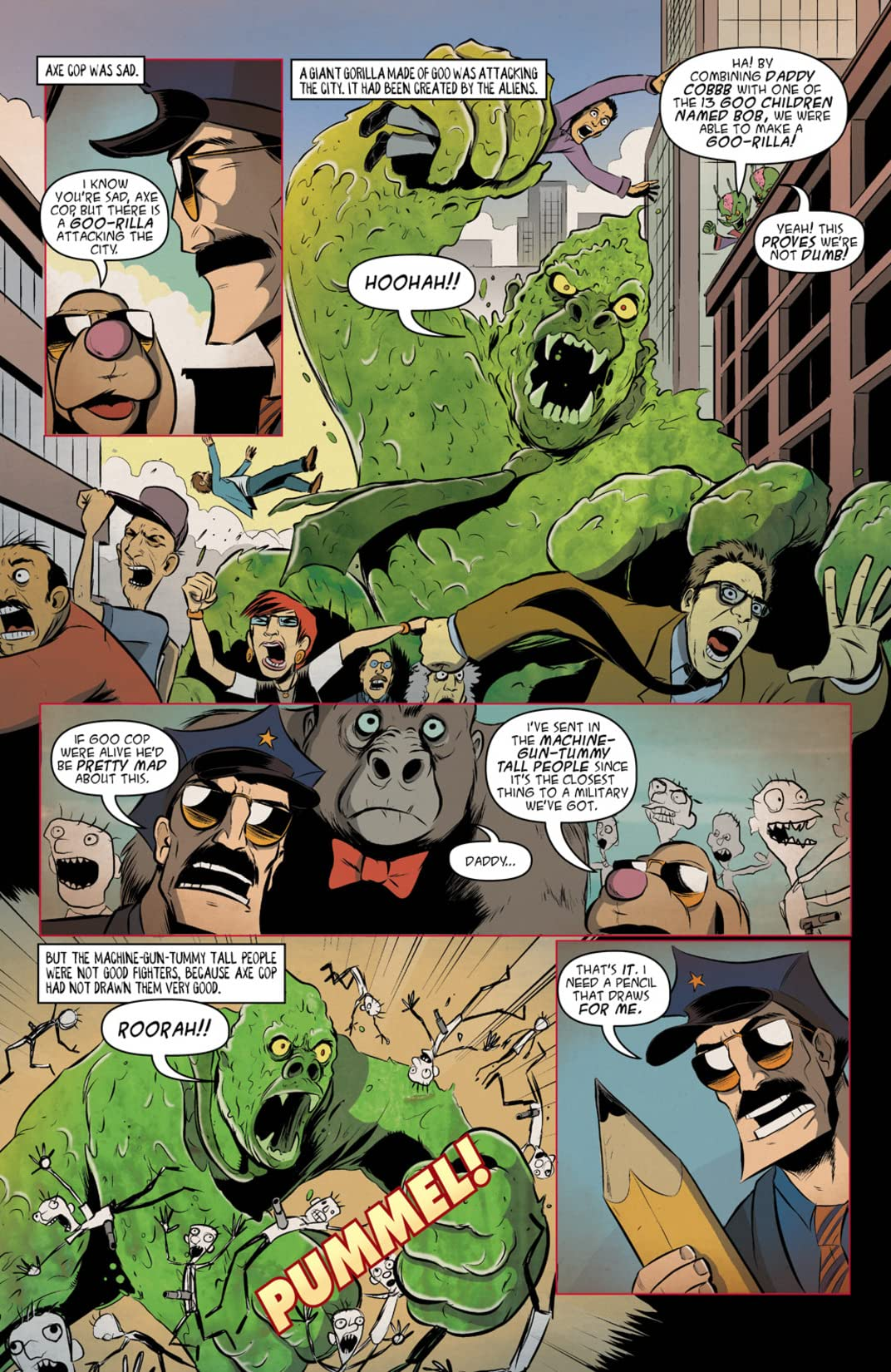 Axe Cop: President of the World #3