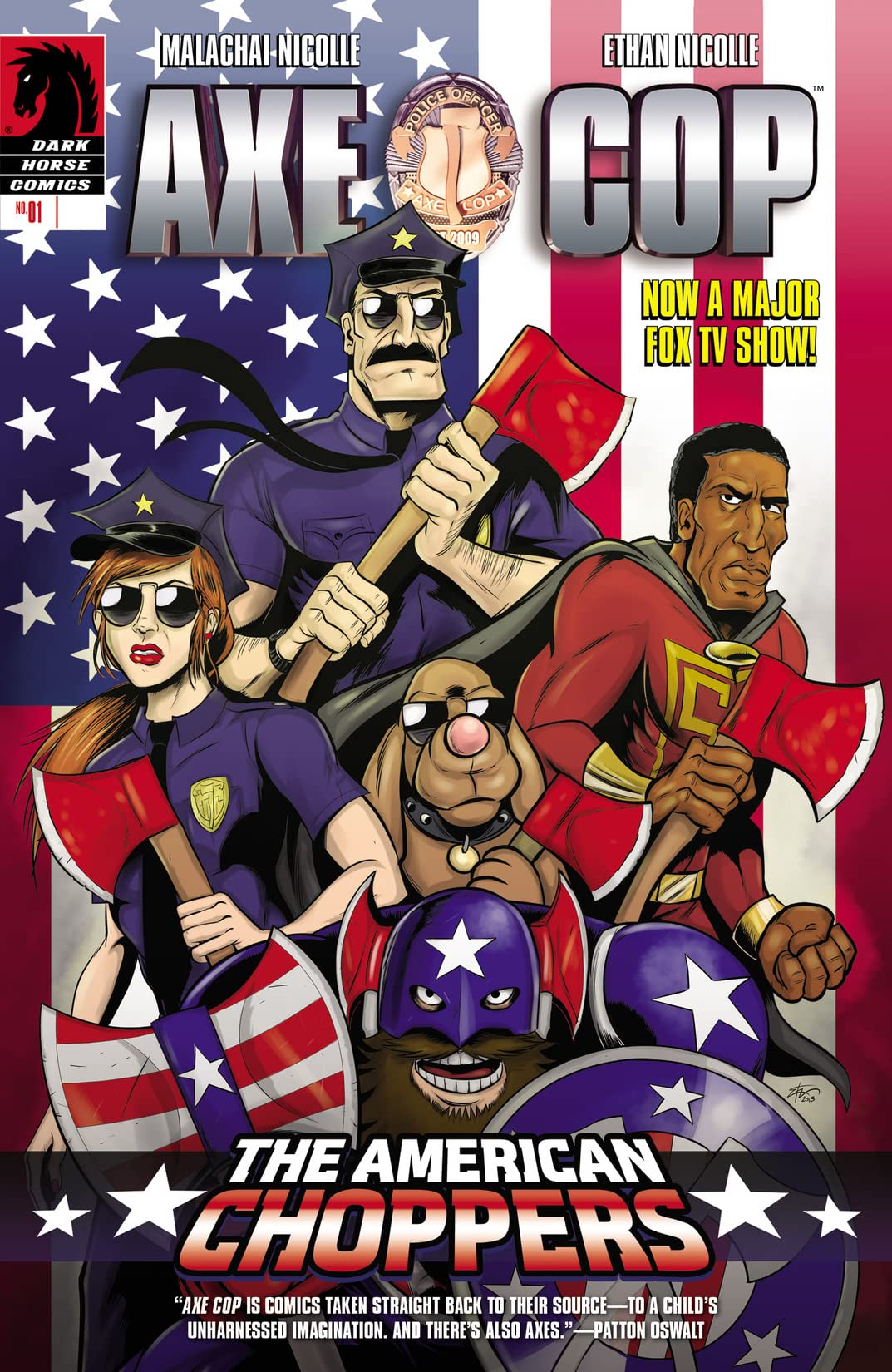 Axe Cop: The American Choppers #1