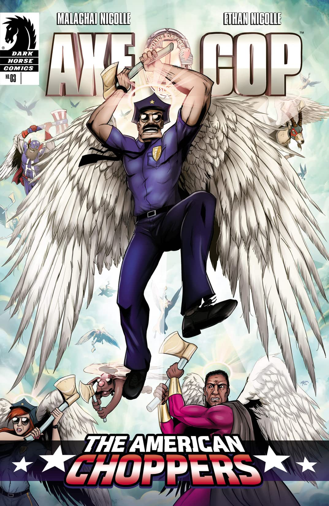 Axe Cop: The American Choppers #3