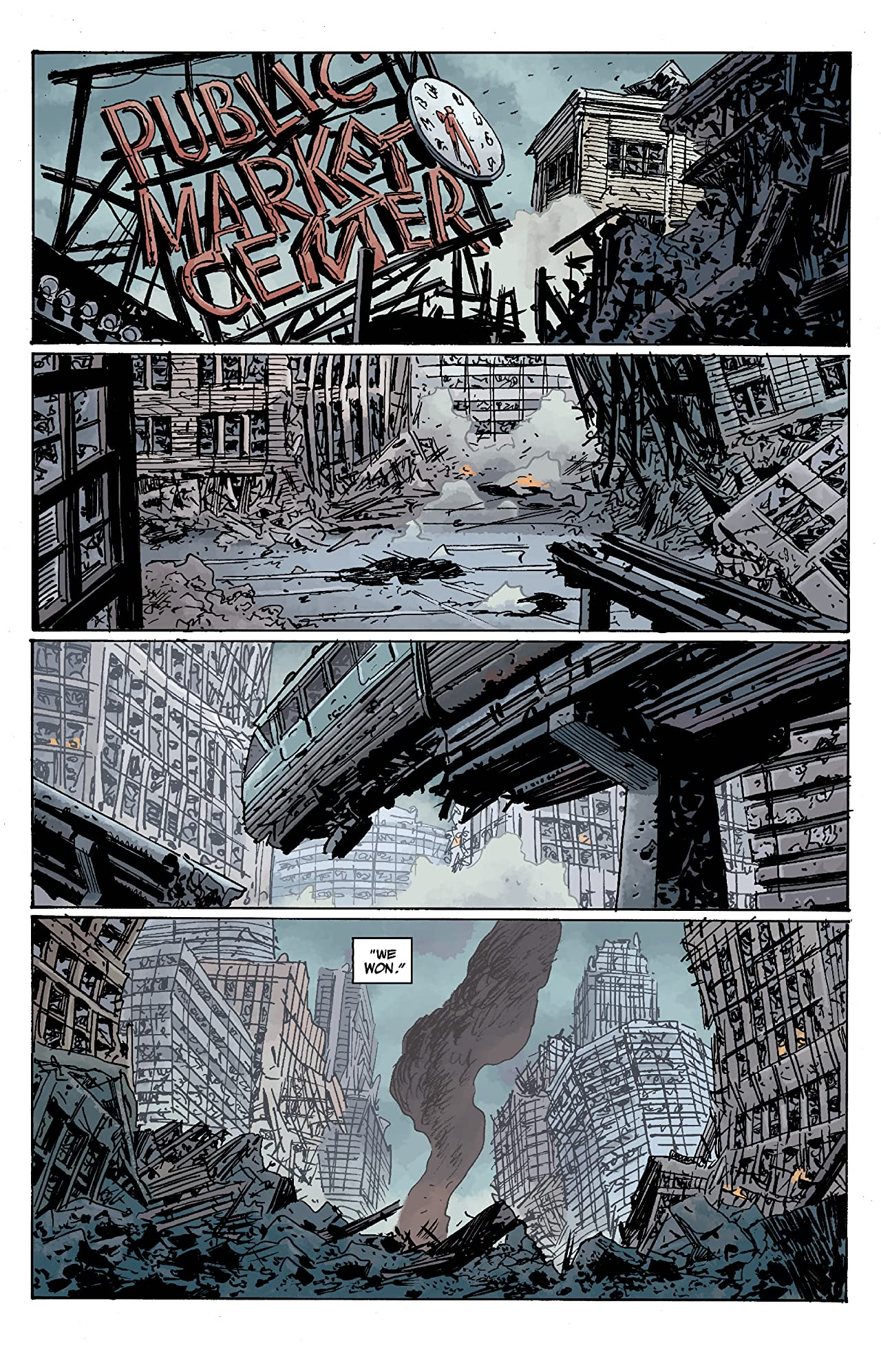 B.P.R.D. Hell on Earth: Seattle #0