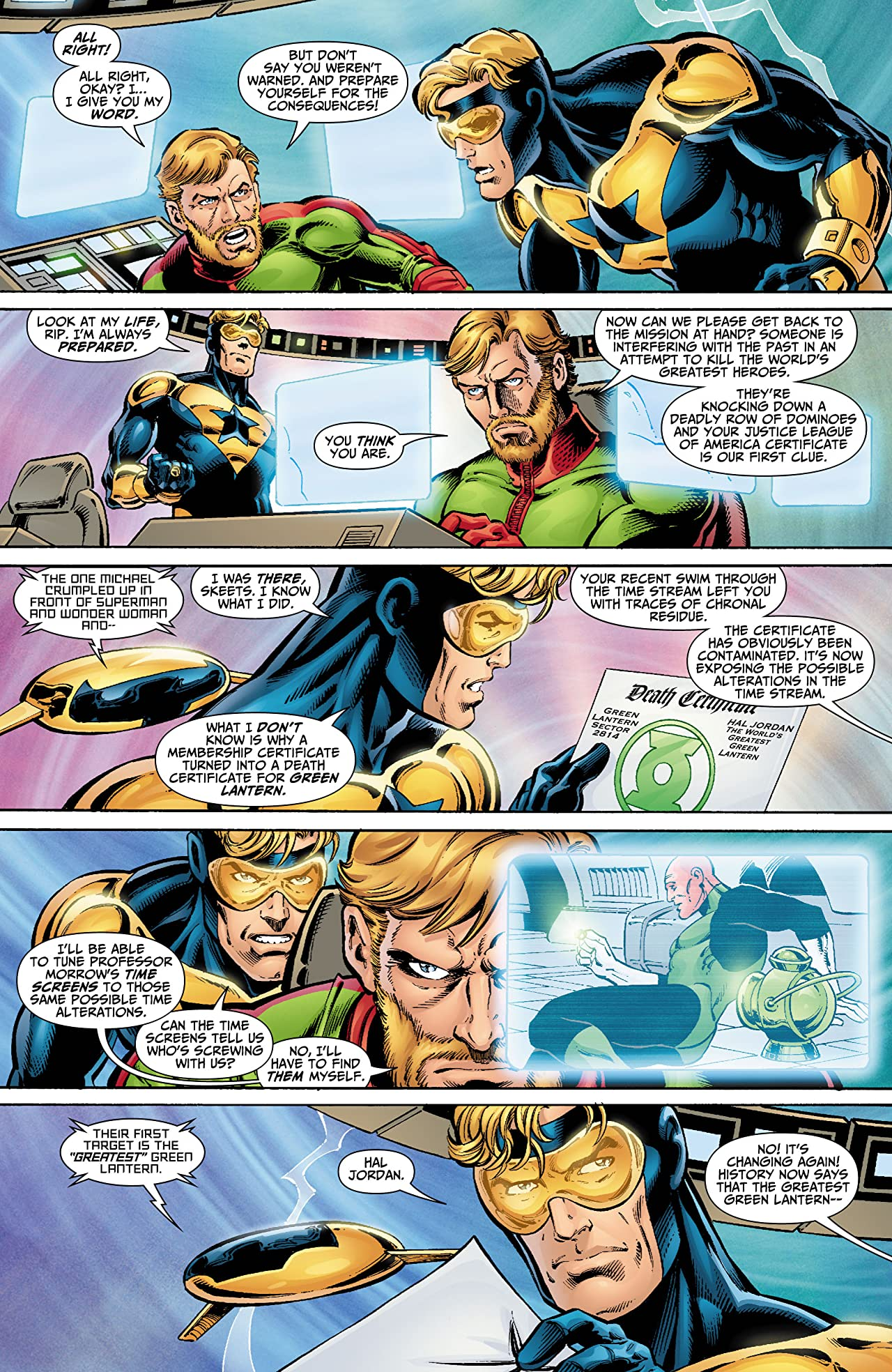 Booster Gold (2007-2011) #2