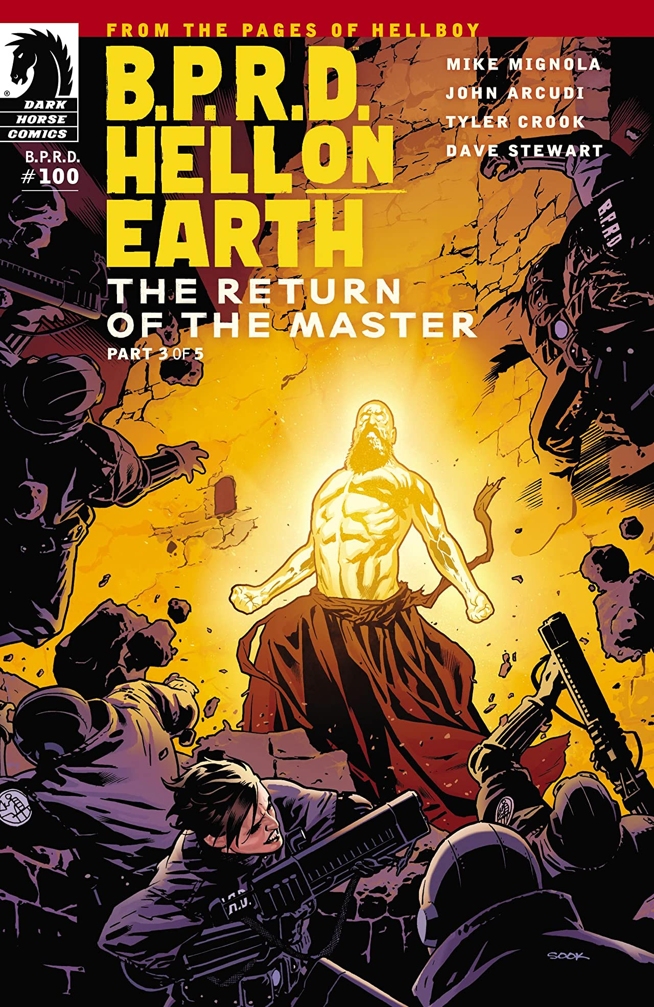 B.P.R.D.: Hell on Earth #100: The Return of the Master #3