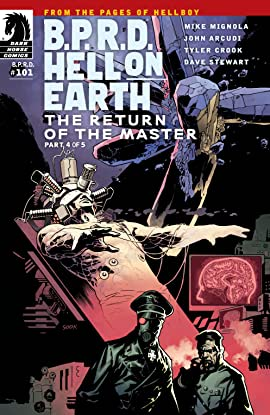 B.P.R.D. Hell on Earth #101: The Return of the Master #4