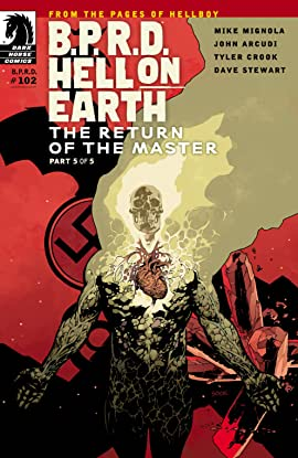 B.P.R.D. Hell on Earth #102: The Return of the Master #5
