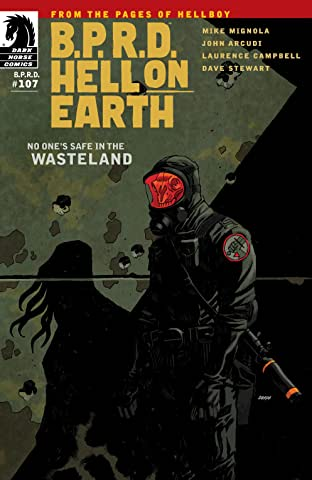 B.P.R.D. Hell on Earth #107: Wasteland part 1