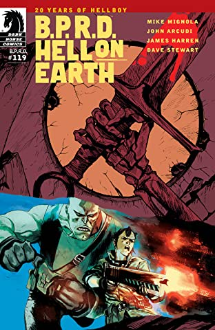 B.P.R.D. Hell on Earth #119