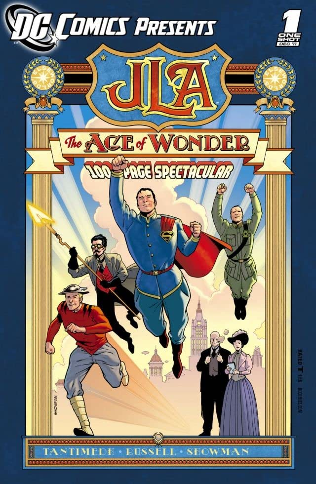 DC Comics Presents: JLA- The Age of Wonder #1