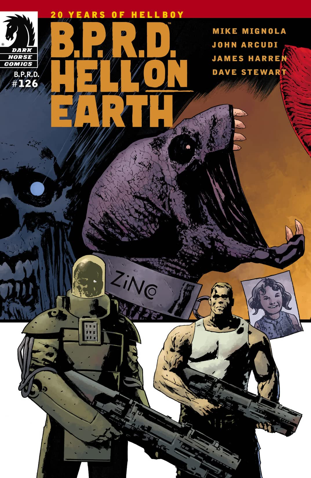 B.P.R.D.: Hell on Earth #126