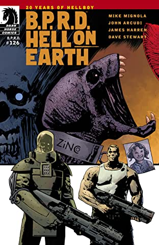 B.P.R.D. Hell on Earth #126