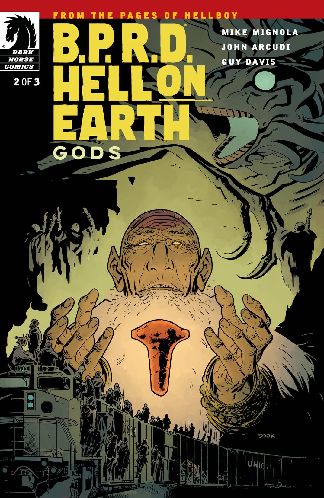 B.P.R.D. Hell on Earth: Gods #2