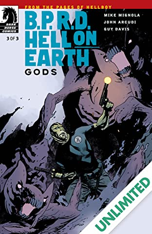 B.P.R.D. Hell on Earth: Gods #3