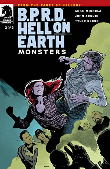 B.P.R.D. Hell on Earth #5: Monsters #2