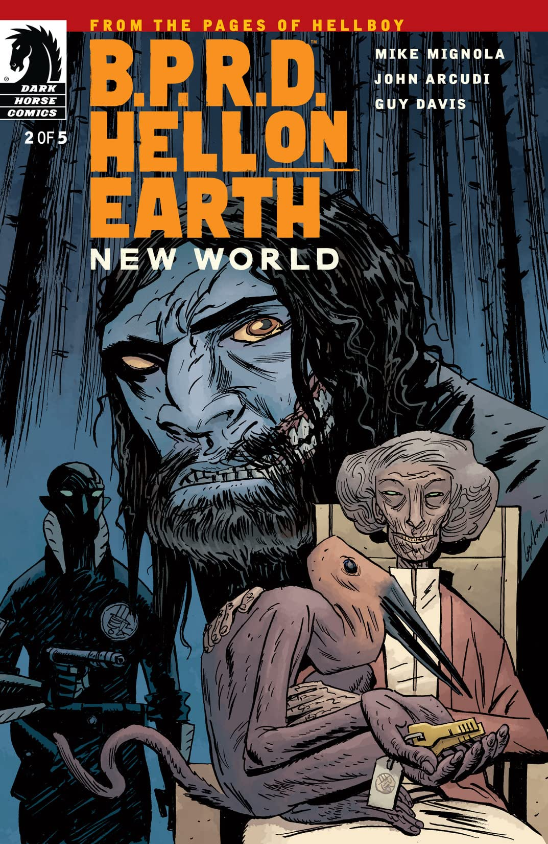 B.P.R.D.: Hell on Earth: New World #2