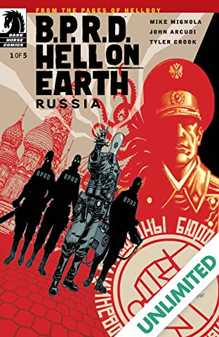 B.P.R.D. Hell on Earth: Russia #1