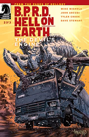 B.P.R.D. Hell on Earth: The Devil's Engine #2